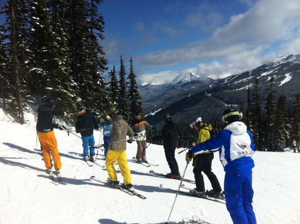 BASI Ski Instructor Courses Europe