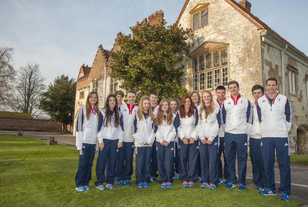 Team GB ahead of EYOF 2015 - Credit Team GB