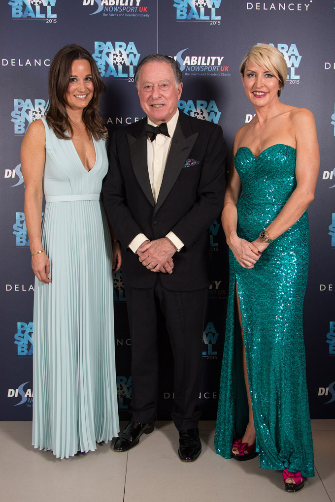 Pippa Middleton, Sir John Ritblat, Heather Mills, London, Britain - 18 March 2015.