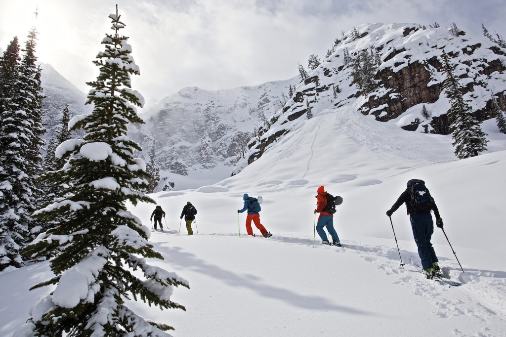 Stormchaser ski trip with Adrenaline Descents and Kicking Horse Powder Tours