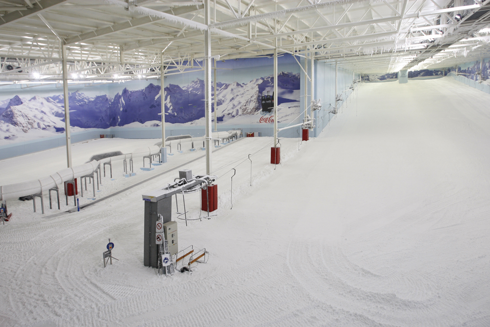 Main slope inside view chillfactore
